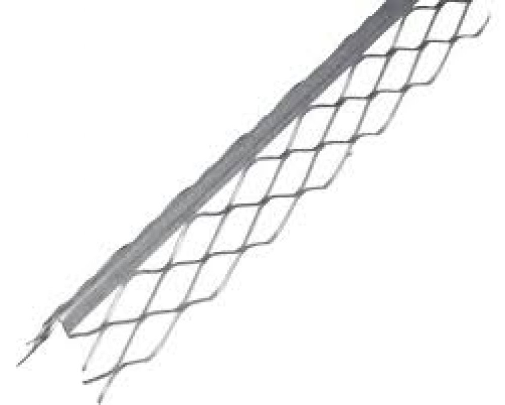 Profil colt aluminiu pentru tencuiala, 2.5 m, 47 x 47 mm