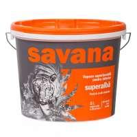 Vopsea superlavabila interior, Savana, alba, 8.5L