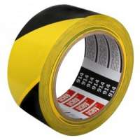 Banda de marcaj *914* pvc, dungi negru cu galben 48 mm x 33 mm