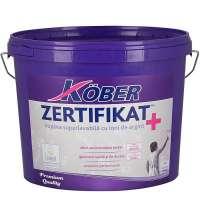 Vopsea lavabila interior, Kober Zertifikat Plus, alba, 3L