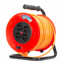 Derulator cablu electric, 4 prize, 50 m, 3 x 1.5mmp