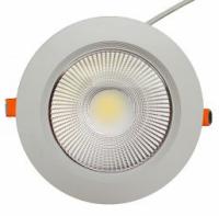 Spot LED incastrat, 10W, lumina calda