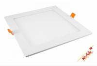 Spot LED tip plafoniera, 12W, patrat