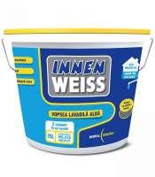 Vopsea lavabila interior, Innenweiss, alba, 8.5L