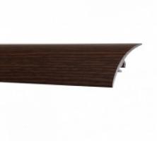 Profil aluminiu de trecere, diferenta de nivel, suruburi ascunse, mahon, 41 mm, 180 cm