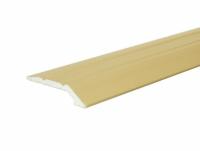 Profil aluminiu de trecere, diferenta de nivel, suruburi ascunse, auriu, 41 mm, 180 cm