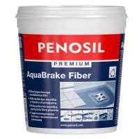 Hidroizolatie pe baza de apa armata cu fibre albastru PENOSIL Premium AquaBrake Fiber 5L