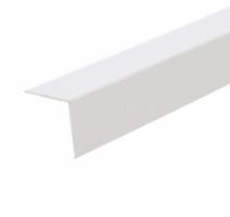 Profil de colt L din PVC, alb, 30 x 30 mm, 2.75 m