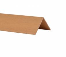 Profil de colt L din PVC, stejar, 30 x 30 mm, 2.75 m