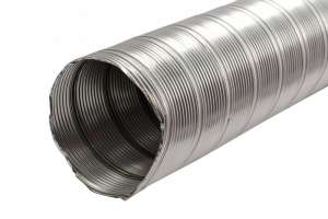Tub flexibil, nox, pentru instalatii de incalzire si ventilatie D160 mm