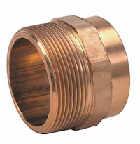 Adaptor alama, interior - exterior, D 15 x 1/2 mm
