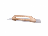 Drisca din inox cu maner din lemn, H+ 28 cm x 32 cm, Seria 43