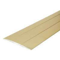 Profil aluminiu de trecere diferenta de nivel simplu auriu 38 mm x 90 cm, pret / buc