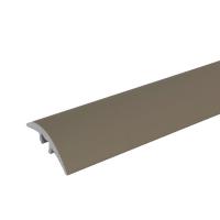 Profil aluminiu de trecere cu suruburi ascunse olive 41 mm x 270 cm, pret / buc