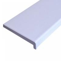 Profil sfert de cerc, din PVC, alb, 14 x 14 mm, 250 cm