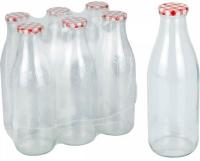 Borcan de sticla 0.330 ml, FI 38, set 12 bucati