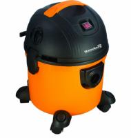 Aspirator cu aspiratie umeda si uscata Hausberg HB-2095, 1200 W, Capacitate mare 15 L, Portocaliu/Negru