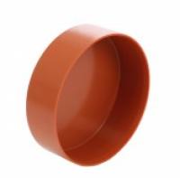 Capac C PVC, portocaliu,  D200