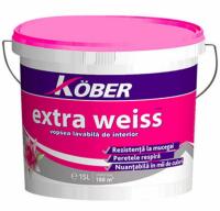 Pachet promo vopsea lavabila interior, Extra Weiss, alba, 15L + Amorsa 3L