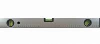 Nivela aluminiu gri Wolf-G 3 indicatori 600 mm