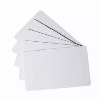 Carduri printabile inkjet fata-verso, albe, set 20 bucati