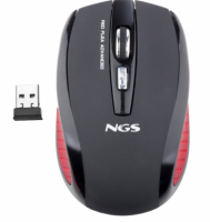 Mouse Wireless NGS Red Flea, pret / buc