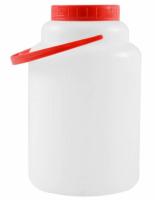 Flacon rosu cu capac 5L, pret / buc