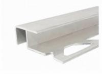 Profil aluminiu pentru scara argintiu 25 x 40 x 90 cm, pret / buc