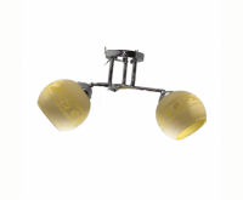 Lustra VLF 6029/2 galben, pret / buc