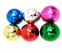 Globuri mari 6pcs/set diverse culori