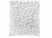 Ornament clopotei albi cu globuri albe