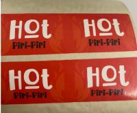 Eticheta stegulet Hot