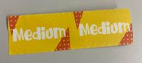 Eticheta stegulet Medium