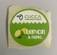 Eticheta sos lemon