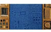 Traversa Jena albastru 77, latime 1 m