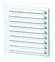 Rama aerisire cu plasa, pentru ventilatia incaperilor, 15 cm x 15 cm