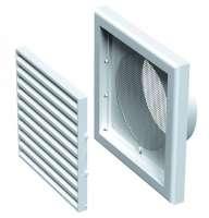 Rama cu manson pentru ventilatie D 125mm 18.7cm x 18.7cm